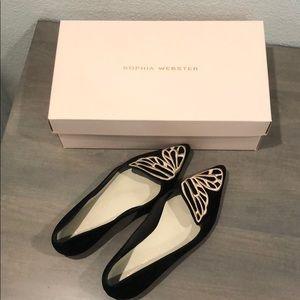 Sophia Webster Butterfly Flats, sz 5.5